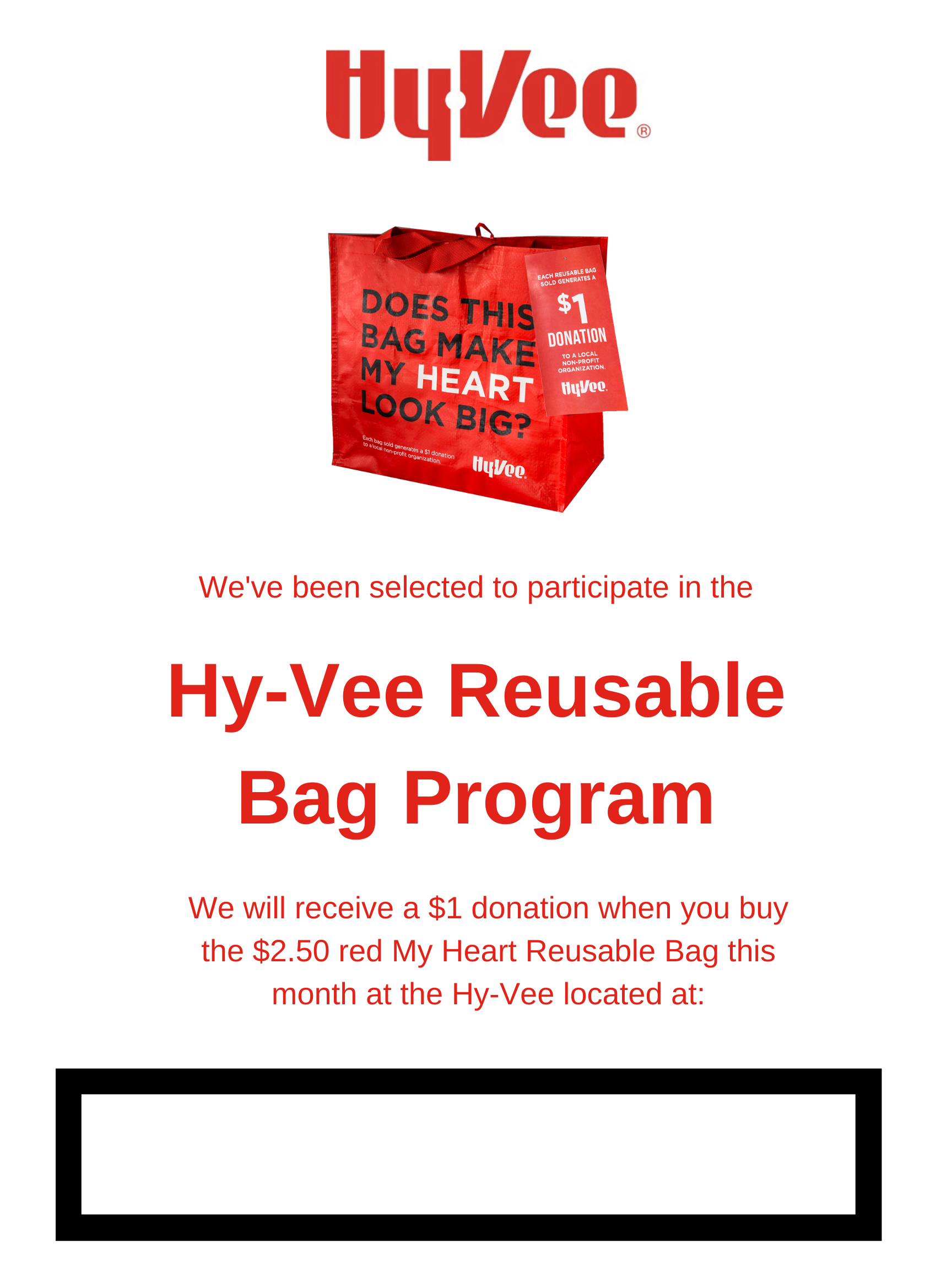 Hy-Vee Bag Flyer