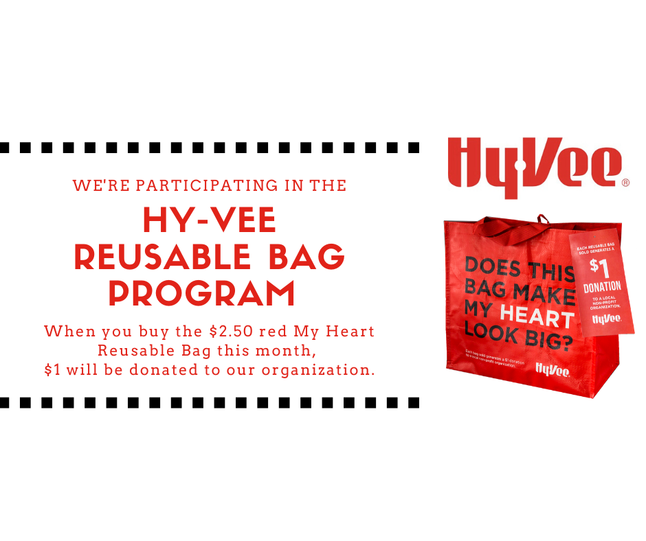 Hy-Vee WE'RE PARTICIPATING BAG