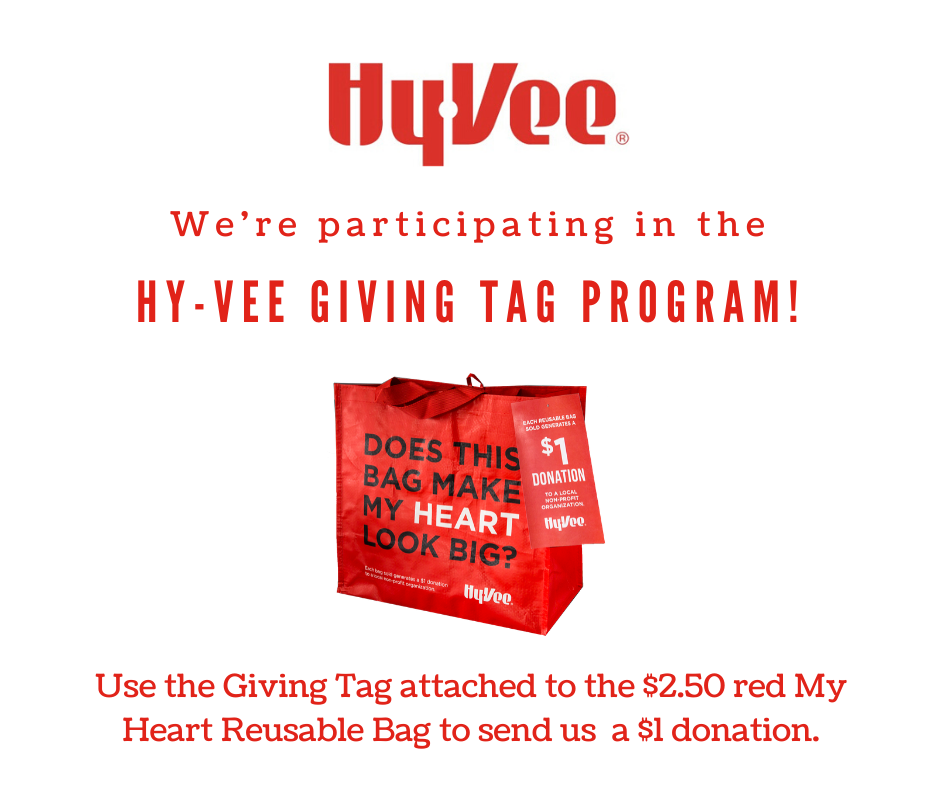 Hy-Vee We're Participating Tag